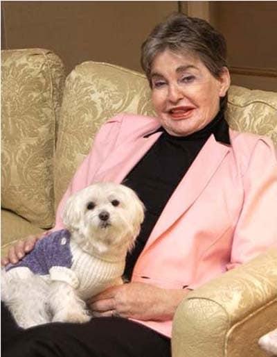 Malteser Hund Trouble Leona Helmsley